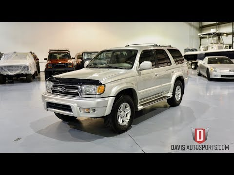 2000 Toyota 4Runner Limited Sport Utility 4-Door: TOYOTA 4RUNNER LIMITED / DIFF LOCK / TIMING BELT DONE / WATCH VIDEO / 1 OWNER