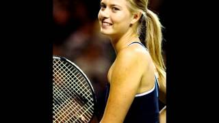 song is Wonderful by Chantal Kreviazuk, maria sharapova photo,
