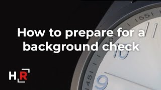 How to Prepare For a Background Check (ASL included)