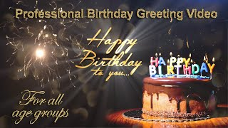 Free happy birthday wishes video greetings download | Birthday wishes & greetings | Happy Birthday