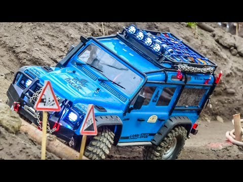 Awesome Realistic RC Scale Offroad Cars In Action!