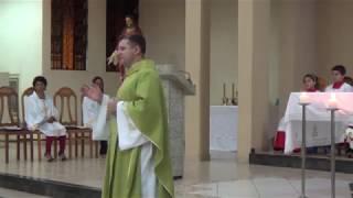 Evangelho e Homilia - Missa de Investidura de Novos Ministros da Sagrada Eucaristia (13.10.2018)