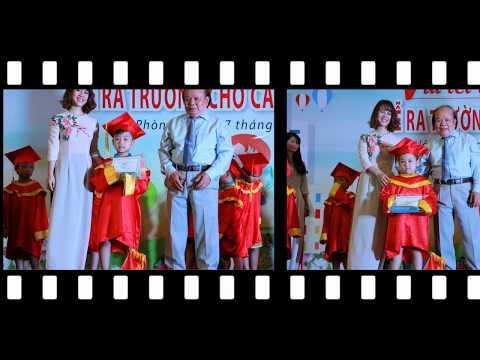 Lễ ra trường của các bé 5 tuổi Trường Mầm Non Hữu Nghị Quốc Tế
