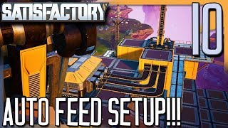 UNLOCKING MORE TECH & AUTO FEED IS SET UP!   Satisfactory Gameplay/Let's Play E10