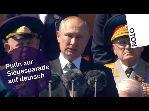 Putin zur Siegesparade auf deutsch [Video]
