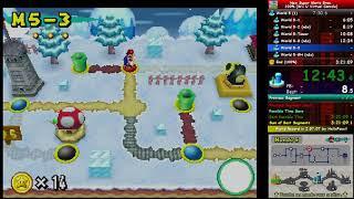 New Super Mario Bros. (DS) (100%) In 2:46:48