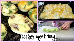 Freezer Meals | Cook With Me