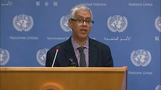 Appointment of High Commissioner for Human Rights & other topics - Daily Briefing (10 August 2018)