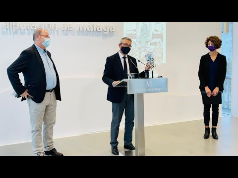 Presentación de la V edicición de la Agenda de la Comunicación 2021 de la Asociación de la prensa de Málaga