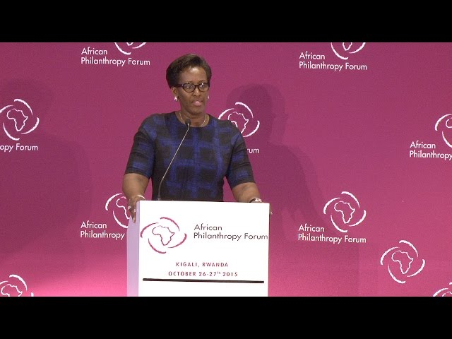 Special Address by Her Excellency Jeannette Kagame, First Lady, Republic of Rwanda