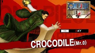 One Piece: Pirate Warriors 4 - Crocodile Character Trailer - PS4/XB1/NSW/