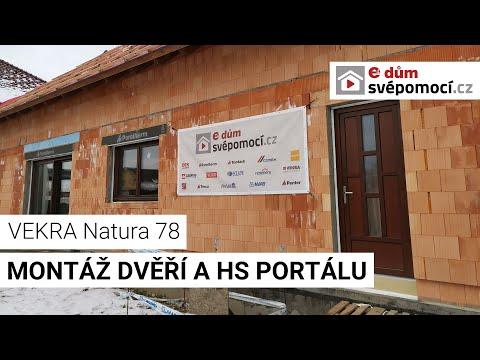 Montáž dveří a HS portálu VEKRA