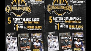 Gunslingers Football 2 Box Break 6 Retail & 4 Hobby Packs