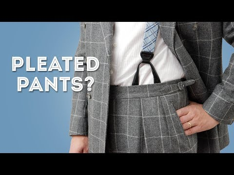 Should You Wear Pleated Pants?