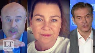 Ellen Pompeo Slams Dr. Phil, Dr. Oz