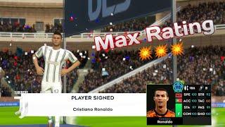 Dream League Soccer 2021 | Cristiano Ronaldo Max Rating Upgrade + Performance | DLS 21 Mobile