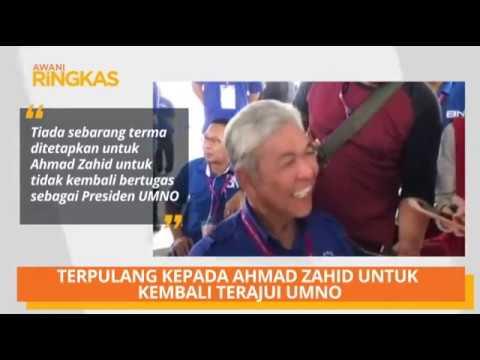 AWANI Ringkas: Terpulang kepada Ahmad Zahid untuk kembali terajui UMNO