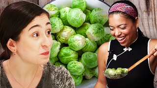 Can Chefs Make Brussels Sprout-Haters Change Their Mind? - Video Youtube