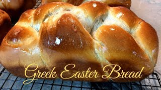 Greek Easter Bread - Step By Step Instructions