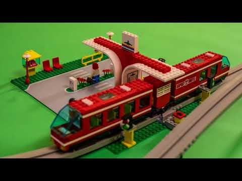 Lego Airport Shuttle 6399 And 6347 Track 100 Complete W Box