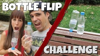 El RETO De La BOTELLA | WATER BOTTLE FLIP CHALLENGE
