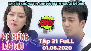 Mẹ Chồng Làm Dâu - Tập 31 Full | Phim Sitcom Mẹ Chồng Nàng Dâu Việt Nam Hay Nhất 2020 - Phim Hài HTV