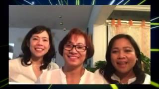 Keona's godparents dedication greetings