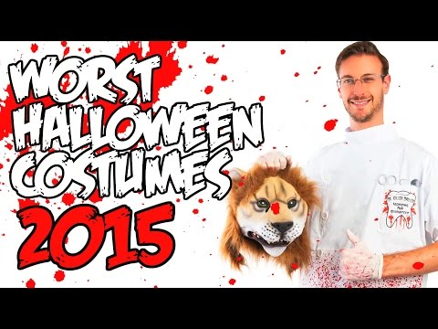 WORST Halloween Costumes of 2015