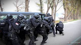 Demonstracija Obučenosti Specijalističke Jedinice Odreda Žandarmerije U Beogradu