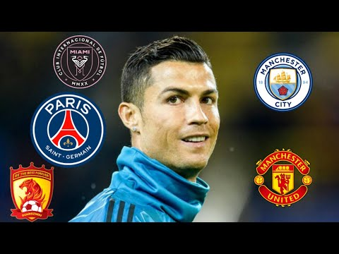 Ronaldo o'tishi mumkin bo'lgan 5ta klub