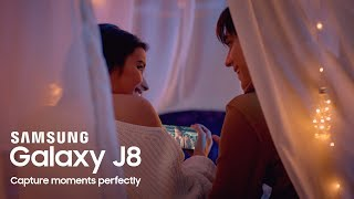 Capture Moments Perfectly with the New Galaxy J8