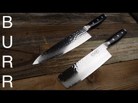 Yaxell Enso Nakiri vs Chef Knife Food Cut Demo + Review