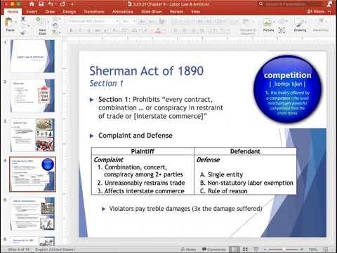 , title : 'Labor Law & Antitrust