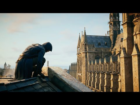 Assassination in Notre Dame. Assassin's Creed Unity Part 4