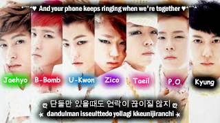 Block B Synchronization 100% [Eng Sub + Romanization + Hangul] High Quality Mp3