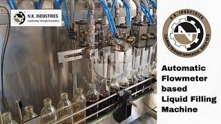 Automatic FlowMeter Based Liquid Filling Machine