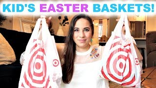 WHAT'S IN MY KID'S EASTER BASKETS + EASTER MOM HACKS