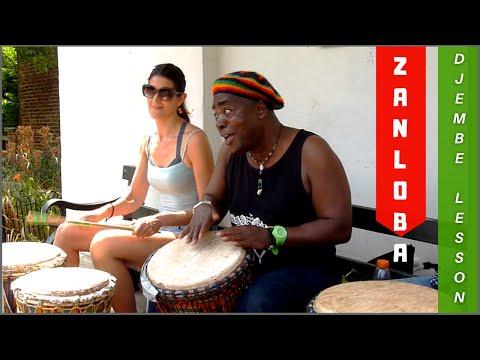 Zanuba - how to play an advanced Ivory Coast rhythm