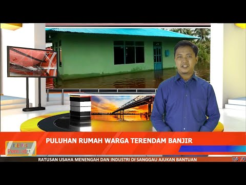 Puluhan Rumah di Kecamatan Sungai Pinyuh Terendam Banjir