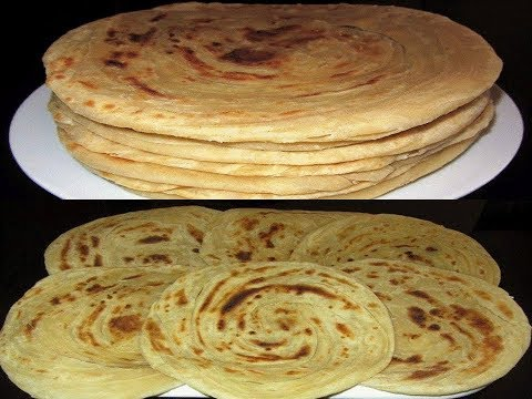 Super Soft And Layered Chapati In English