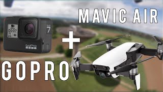 Mavic Air + GoPro HERO7 FPV HACK TEST