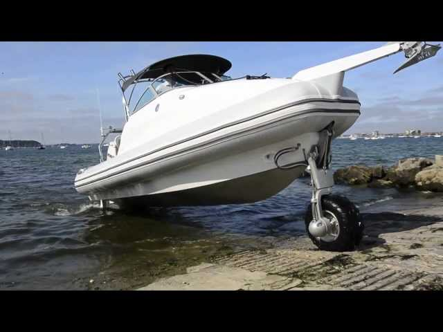 Sealegs 7.7 Cabin | Amphibious boat review | Motor Boat & Yachting