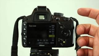 How to select Autofocus Mode on the Nikon D3200