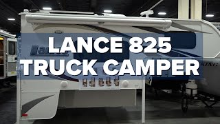 Lance 825 Camper Review