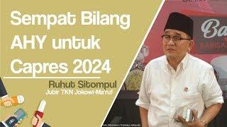 Ruhut Ungkap tentang AHY saat Mengobrol Empat Mata dengan Jokowi: Menangis Hati Saya