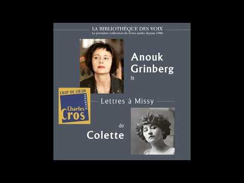 Vidéo de Sidonie-Gabrielle Colette