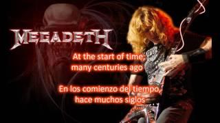 Megadeth: Millennium of the blind de Thirteen(Lyrics y subtitulos en español)