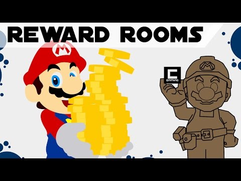 Tips, Tricks and Ideas for Reward Rooms in Super Mario Maker.