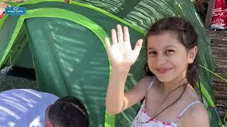 Husky Bizon 4 plus çadır kurulumu