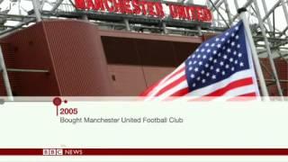 BBC News   Manchester United owner Malcolm Glazer dies